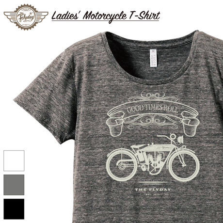 【LADIES'】Motorcycle T-Shirt