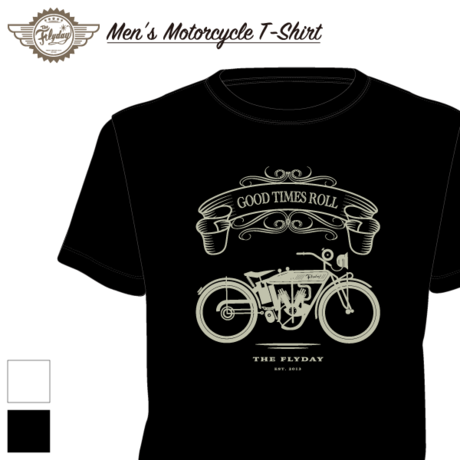 【MEN'S】Motorcycle T-Shirt