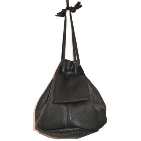 MY THINKS / MY ELK BUCKET BAG -Medium-