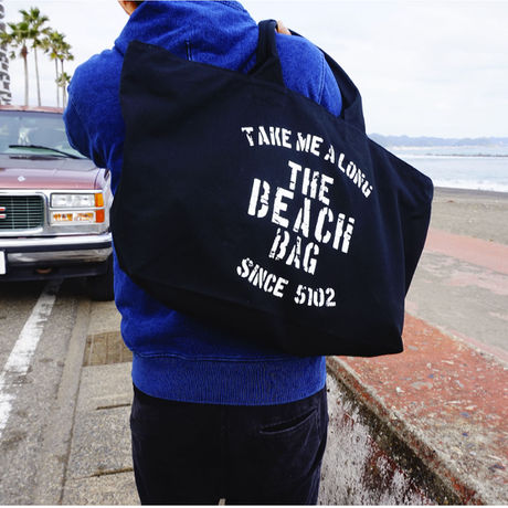 BIG BEACH BAG  BLACK