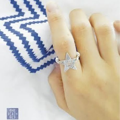 THE BEACH BED × DYANI   STAR RING