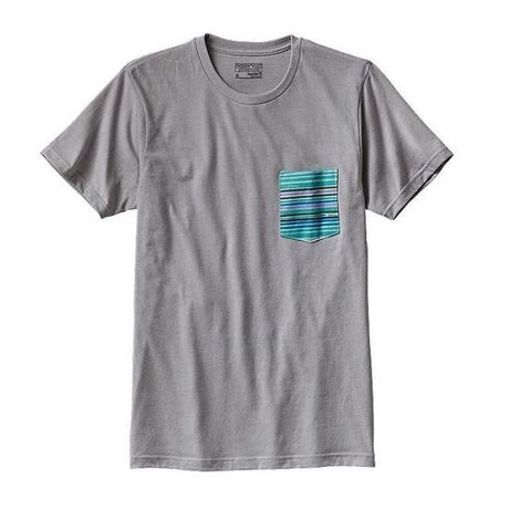 Men's Horizon Line-Up Cotton/Poly Pocket T-Shirt #38817