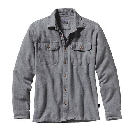 Patagonia Men's Long-Sleeved Fjord Flannel Shirt - Asia Fit #54130 FEA 30%OFF