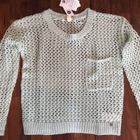 ROXY KNIT TURNABOUT MINT GREEN