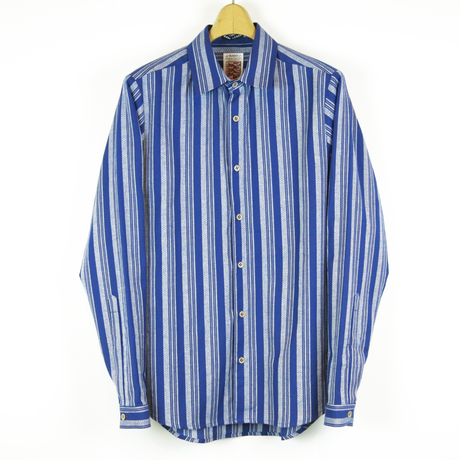 TIB_40 FRANK LEDER Traditional German Fork Fabric Shirt