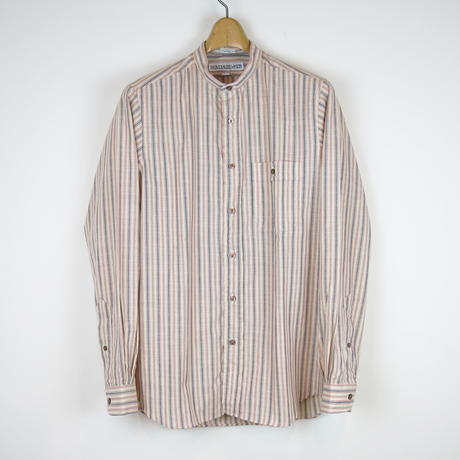 TIB_57 INDIVIDUALIZED SHIRTS 別注 1950 STRIPE SHIRT