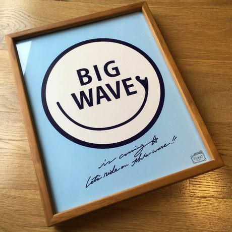 TickeT for Big Wave Art (S)