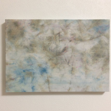 Dyeing Art Panel / Gray&Blue