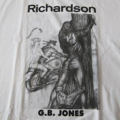 Richardson Magazine G.B.JONES Tシャツ L