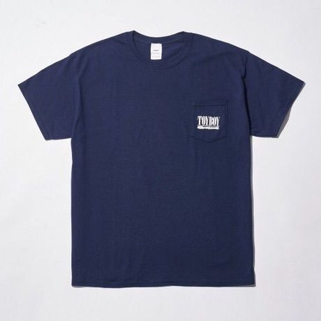 TOYBOY TEE TOYVANA POCKET NAVY