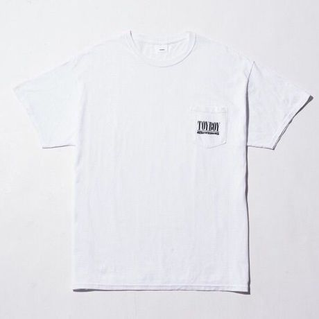 TOYBOY TEE TOYVANA POCKET WHITE