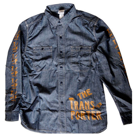 DENIM WORK SHIRT BLUE
