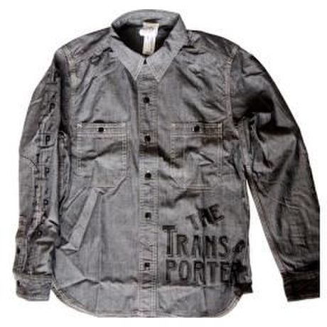 DENIM WORK SHIRT BLACK