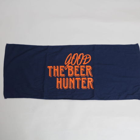 GOOD BEER HUNTER TOWEL-NAVY
