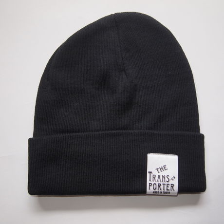 KNIT CAP-BLACK