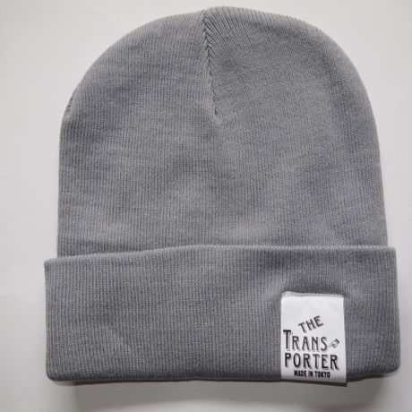 KNIT CAP-GRAY