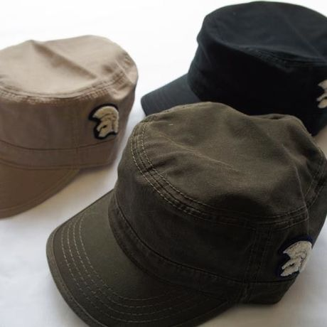 ネバートラスト Washed Cotton Trojan Cap