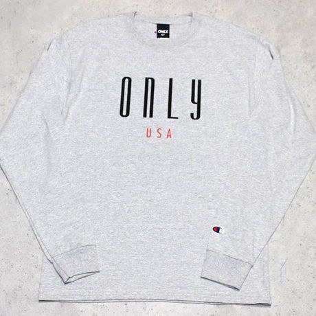 ONLY NY / Continental チャンピオン L/S Tシャツ