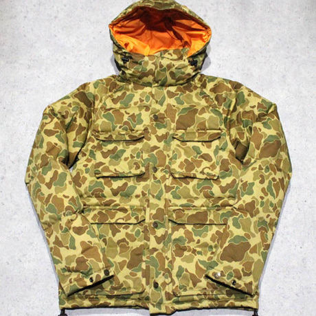 GOOD BELLS / Stretch Hunting Camo Down Jacket