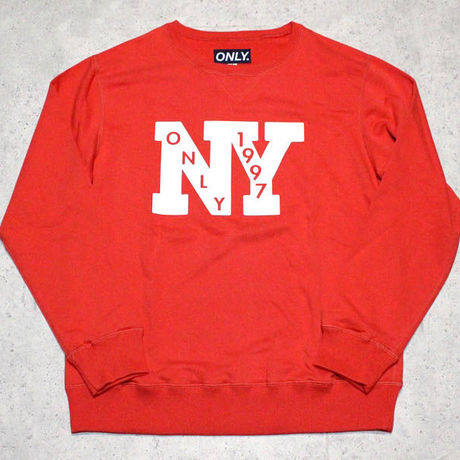 ONLY NY / Outfield French Terry クルーネック スウェット