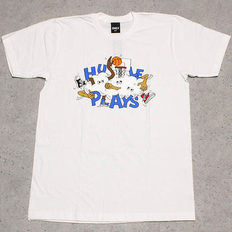 ONLY NY /  Hustle Plays Tシャツ