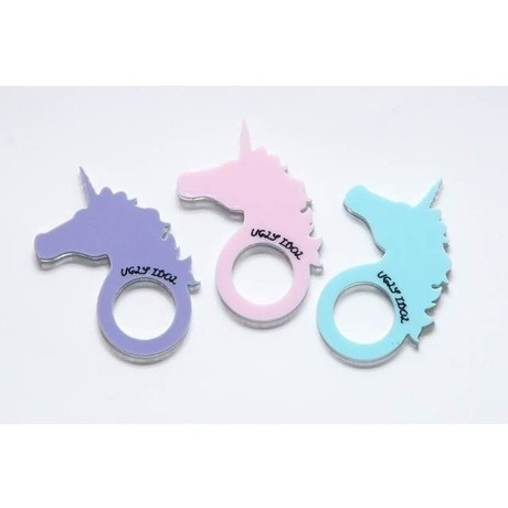 Unicorn Mirror Ring