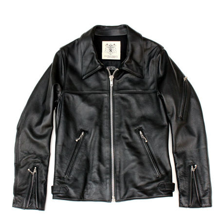 ULTRA VIOLET x ROARS ORIGINAL SINGLE LEATHER JACKET