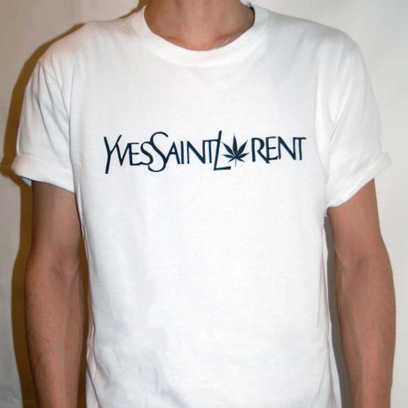 Yves Saint Laurent Parody T-Shirts