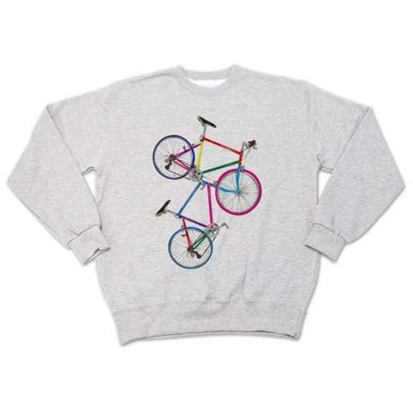 Color bicycle (sweat ash)