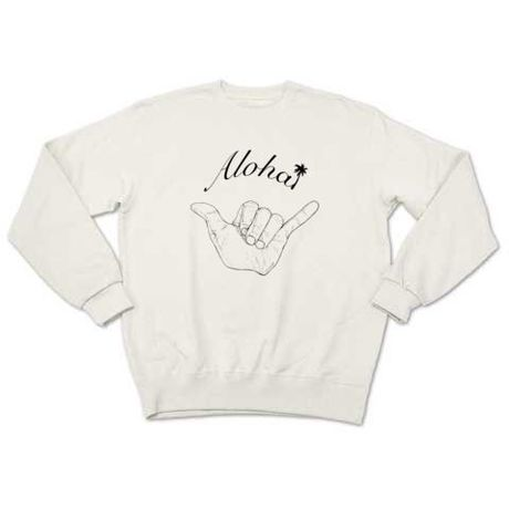 Aloha2(sweat white)