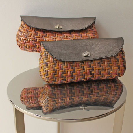 *SALE* ¥12,960→¥9,072   Basket Clutch Bag 5