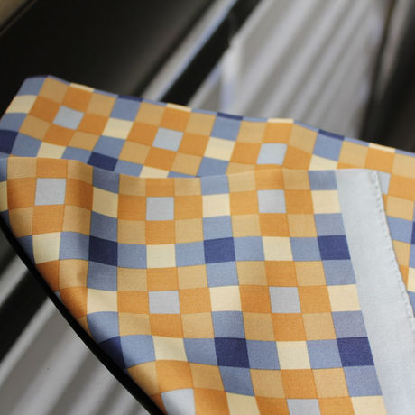 *SALE* ¥3456→¥2180* Silk scarf square -Blocks