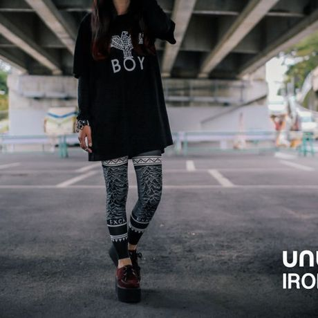 UNUS × IRODORI JOY Leggings[13.10.2 JOY]