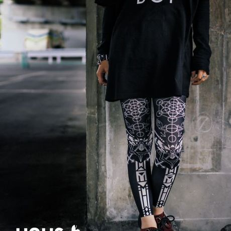 UNUS × IRODORI Bee Leggings[13.10.1 BEE]
