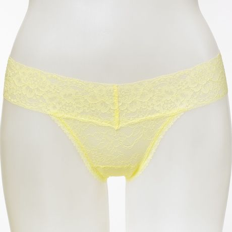 irodori  Thong yellow