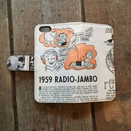 """Vintage Ad iPhone6/6s Case, """"Radio Jambo"""""""