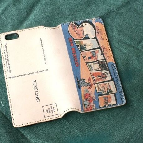"""""""Pictorial Wonderland of America"""" iPhone6/6s Leather Case, """"Santa Fe"""""""