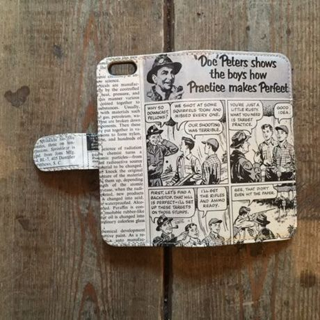 """Vintage Ad iPhone6/6s Case, """"Doc Peters"""""""