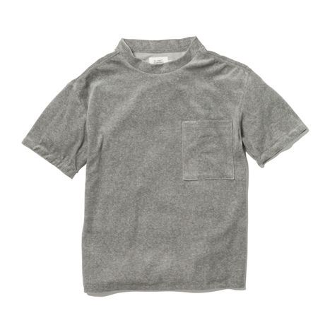 VELOUR POCKET TEE