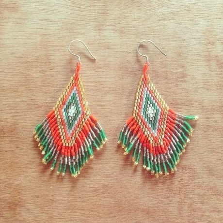 Borneo pierce / Orange&Green
