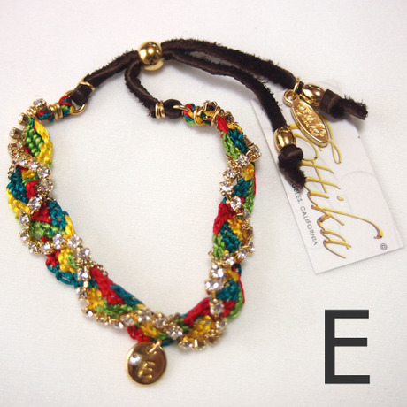 "【Ettika】Friendship Bracelet (#B668) ""E"""