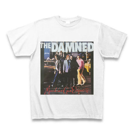 「THE DAMNED」パンク40周年Tシャツ WATERFALLオリジナル ※完全受注生産品 S/ M/ L/ XL