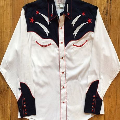 Rockets and Stars Western Shirt 6744-SML