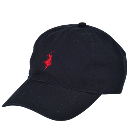 """Cavalier""1P PANEL CAP (BLK×RED)"