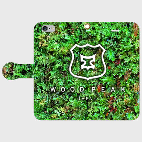 """WOOD PEAK JAPAN PLANT  """"smartphone case  Notebook type"""""""
