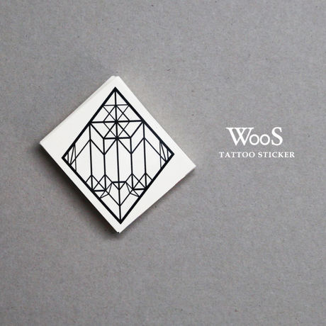 WooS Tattoo Sticker // M&W