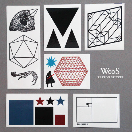 WooS Tattoo Sticker // Vol. 1 セード