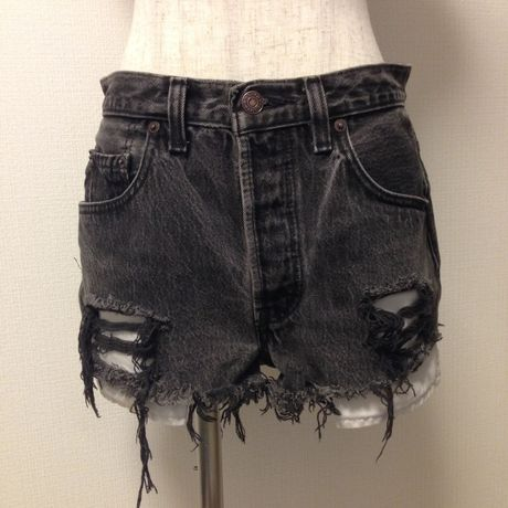 Levi's 501 Made in U.S.A cutoff