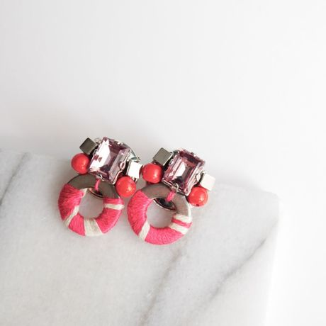 Insect pierce/earrings PINK