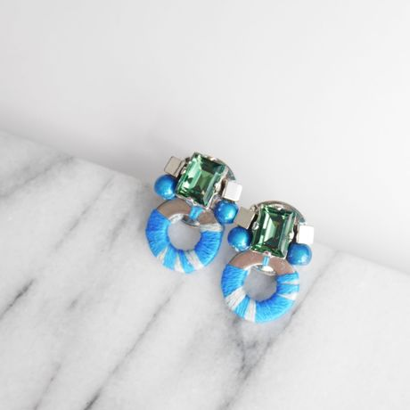 Insect pierce/earrings BLUE